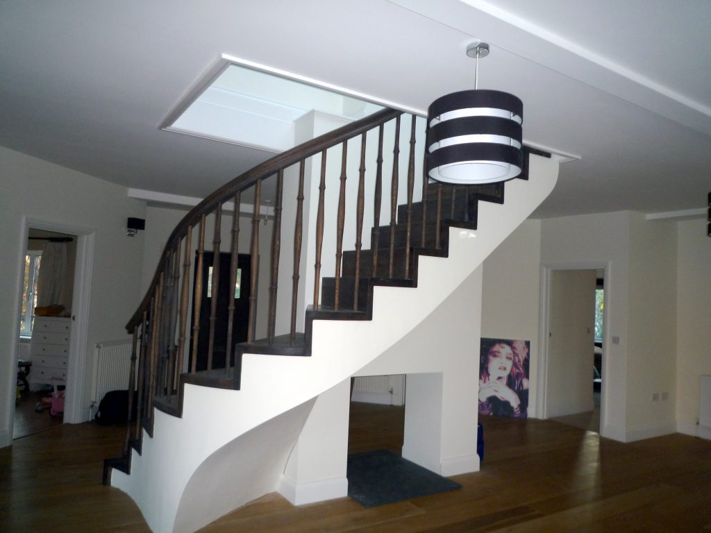 Long Walk Little Chalfont Custome made staircase