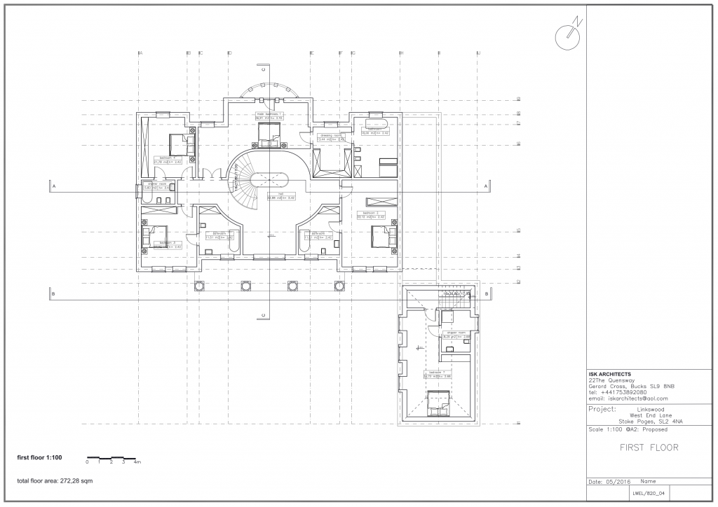West End Lane Stoke Poges First Floor Plans
